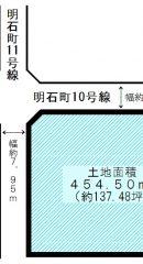 【土地】平塚市明石町売地